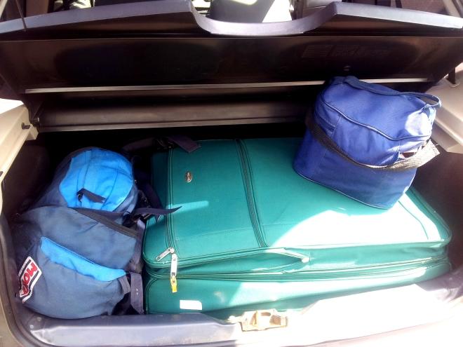 Advinha qual bagagem é de quem?