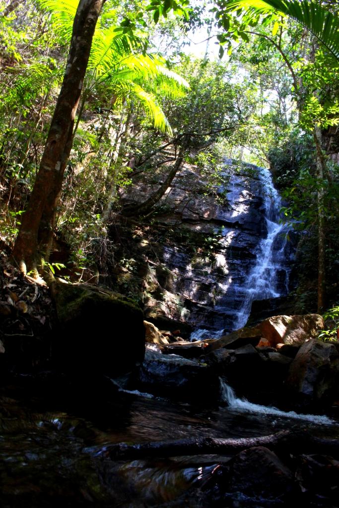 Primeira cachoeira.