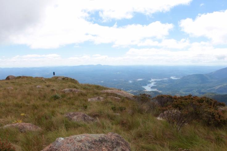 Aquele pontinho é o Luiz apreciando a paisagem