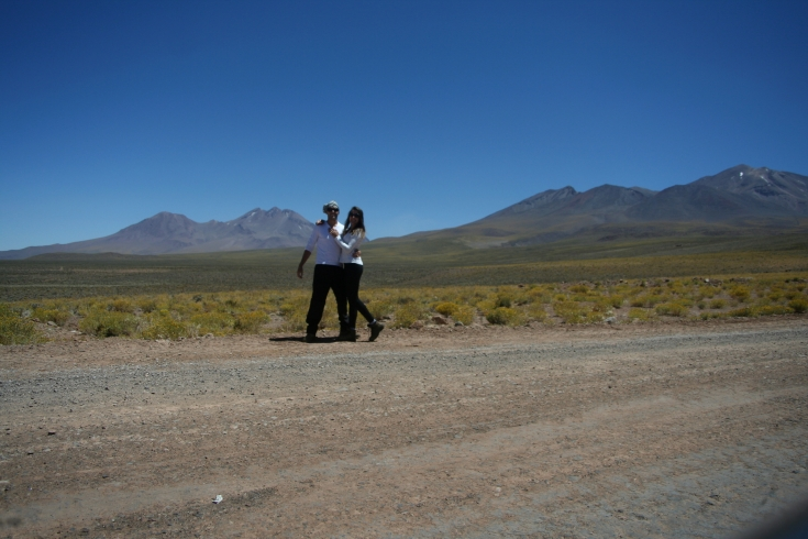 Nós, a estrada e as montanhas!