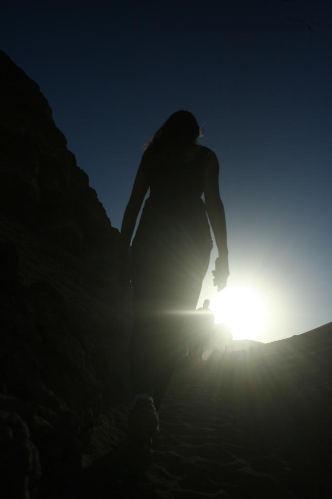 Subindo a montanha, sem fazer manha ;P