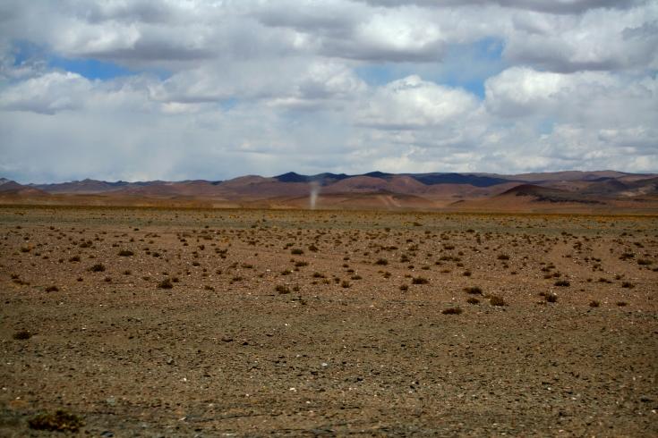Ciclones no deserto!
