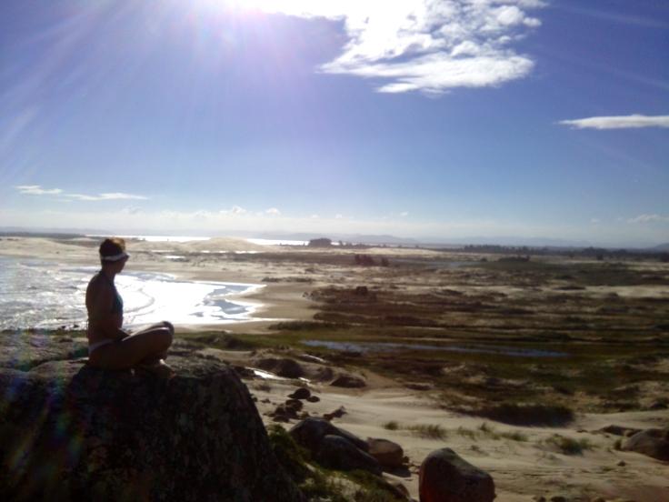 Divisa entre a praia do Cardoso e a Cigana